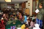 The Idul Fitri gathering